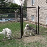 Chain link fence install Ottawa