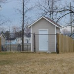 Chain link fence install Ottawa