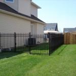 Ornamental iron fence install Ottawa
