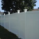 Vinyl PVC fence Ottawa