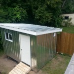 Shed outdoor structure install Ottawa